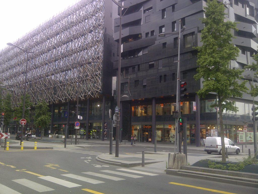 DOORTAL - Immeuble T8 - Façade