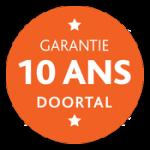 Garantie 10 ans Doortal
