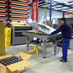 Lancement de la fabrication dans le nouveau hall de production