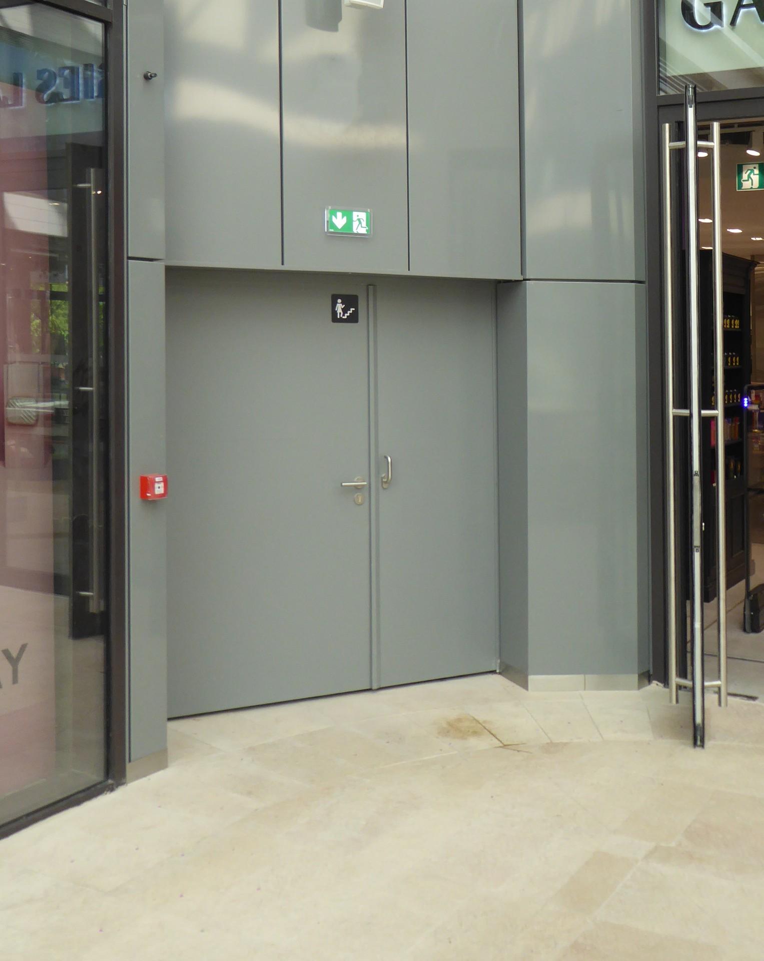 DOORTAL - Centre du prado Porte CR4