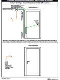 HC104 Serrure électrique à contrôle de béquille