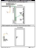 HC107 Serrure motorisée 3 points MSL avec boitier AWS