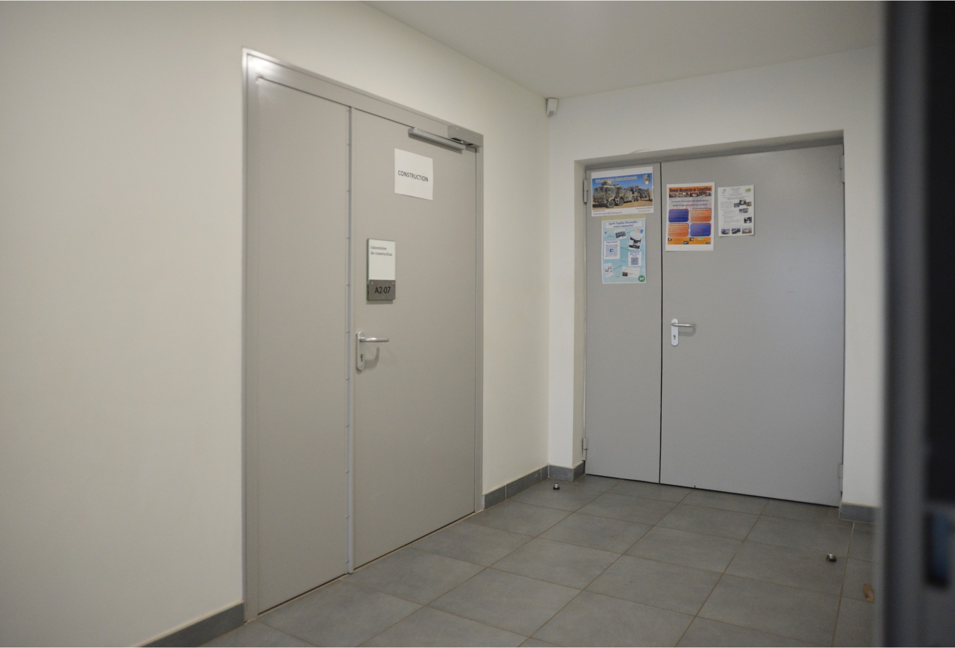 DOORTAL - Lycée isolation thermique