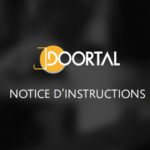 Notice d'instructions des blocs-portes