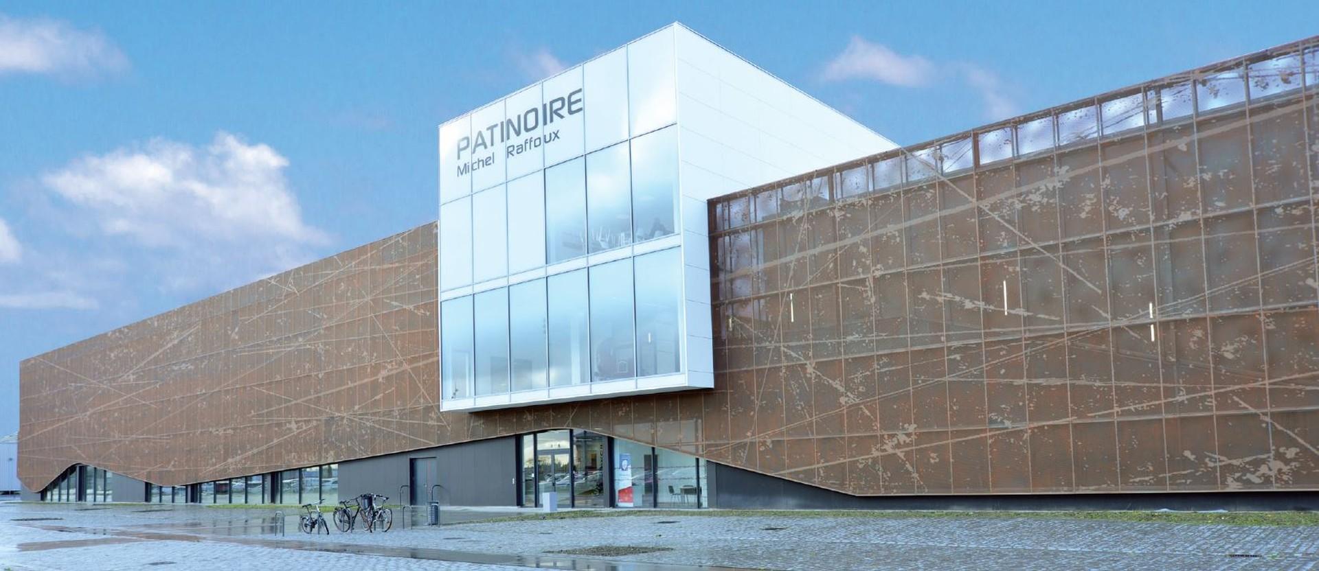 DOORTAL - Patinoire olympique façade