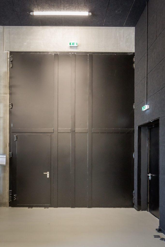DOORTAL - Théatre du Maillon grande porte