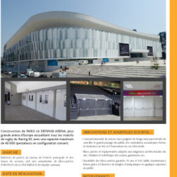 DOORTAL - Aréna à Paris La Défense