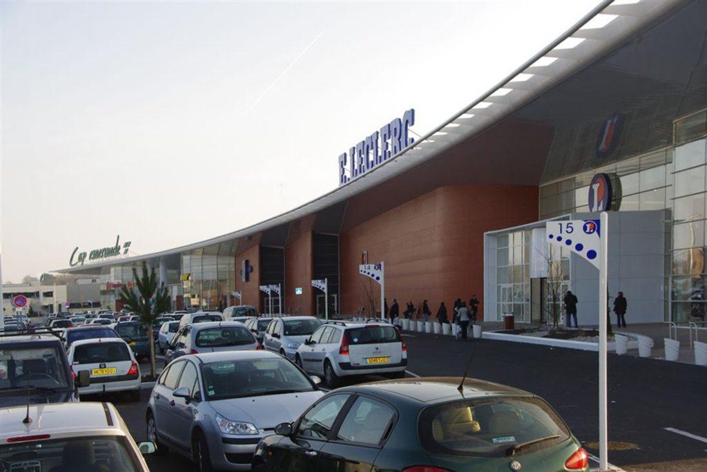 DOORTAL - Centre commercial E - entrée