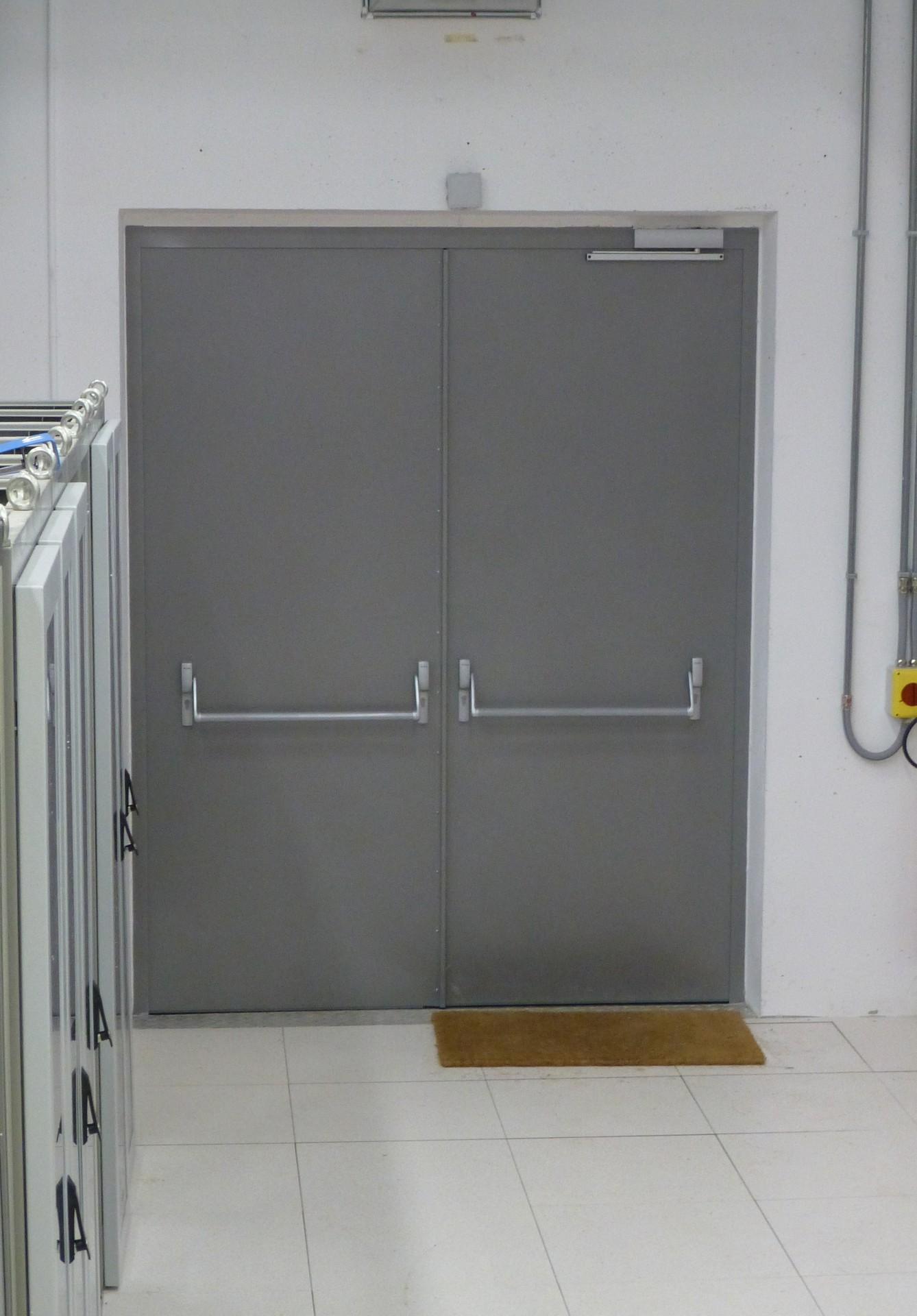 DOORTAL - Centre de recherche - porte double