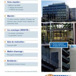 DOORTAL - Immeuble de bureau à Lyon