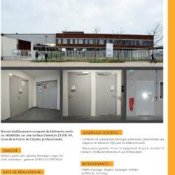 DOORTAL - Lycée eugène Decombre à Chaumont