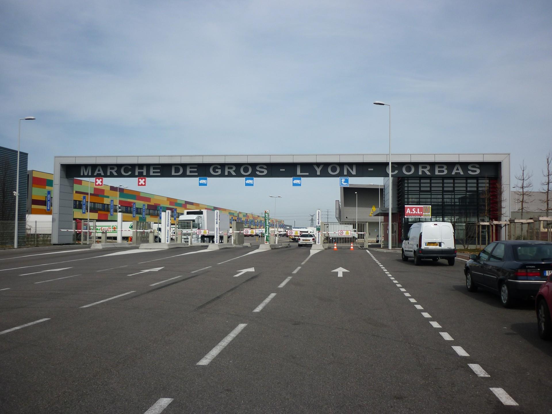 DOORTAL - Marché de gros Lyon - porte