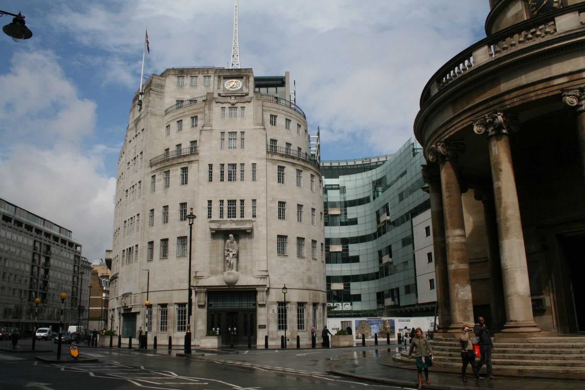 DOORTAL - Studio de la BBC - Façade