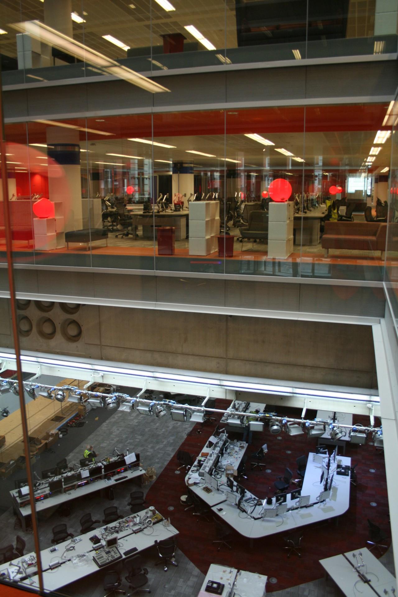 DOORTAL - Studio de la BBC - Salle