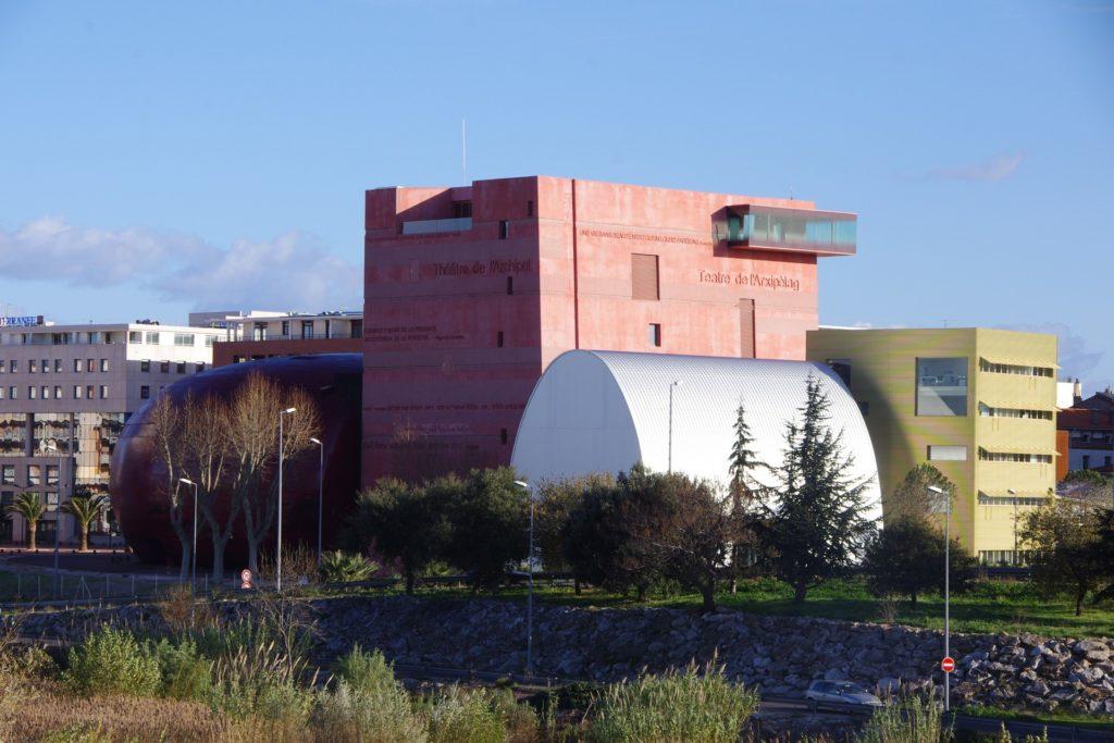 DOORTAL - Théâtre de l'Archipel - Bâtiment
