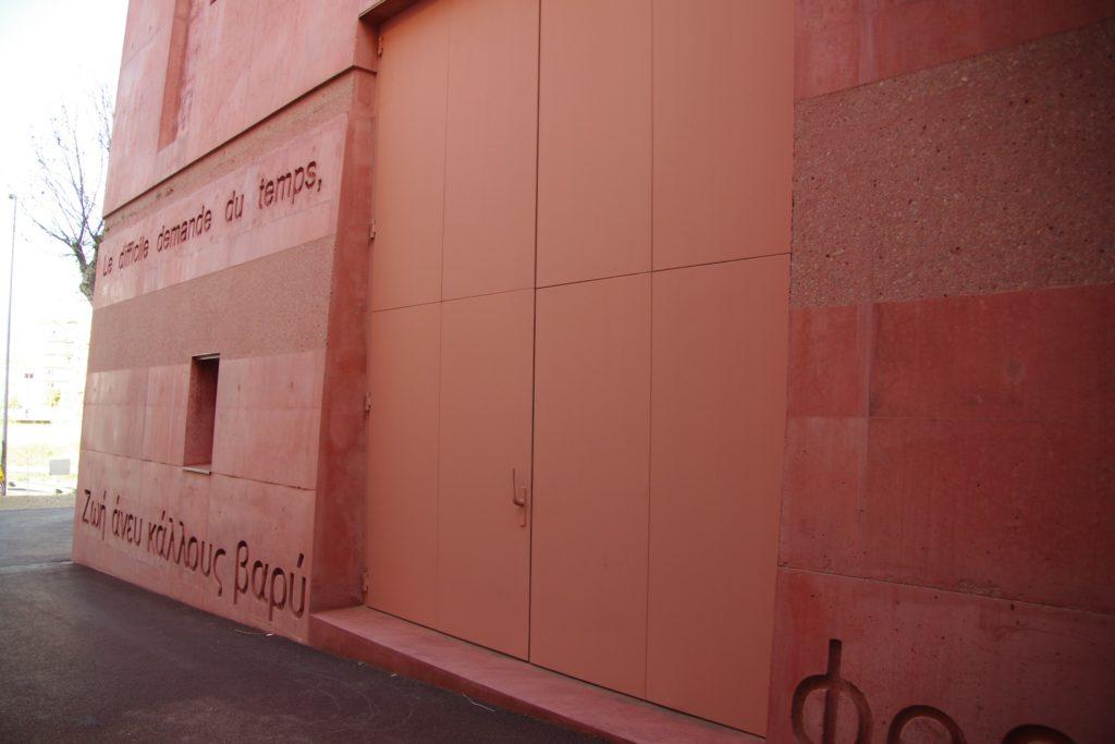 DOORTAL - Théâtre de l'Archipel grande porte
