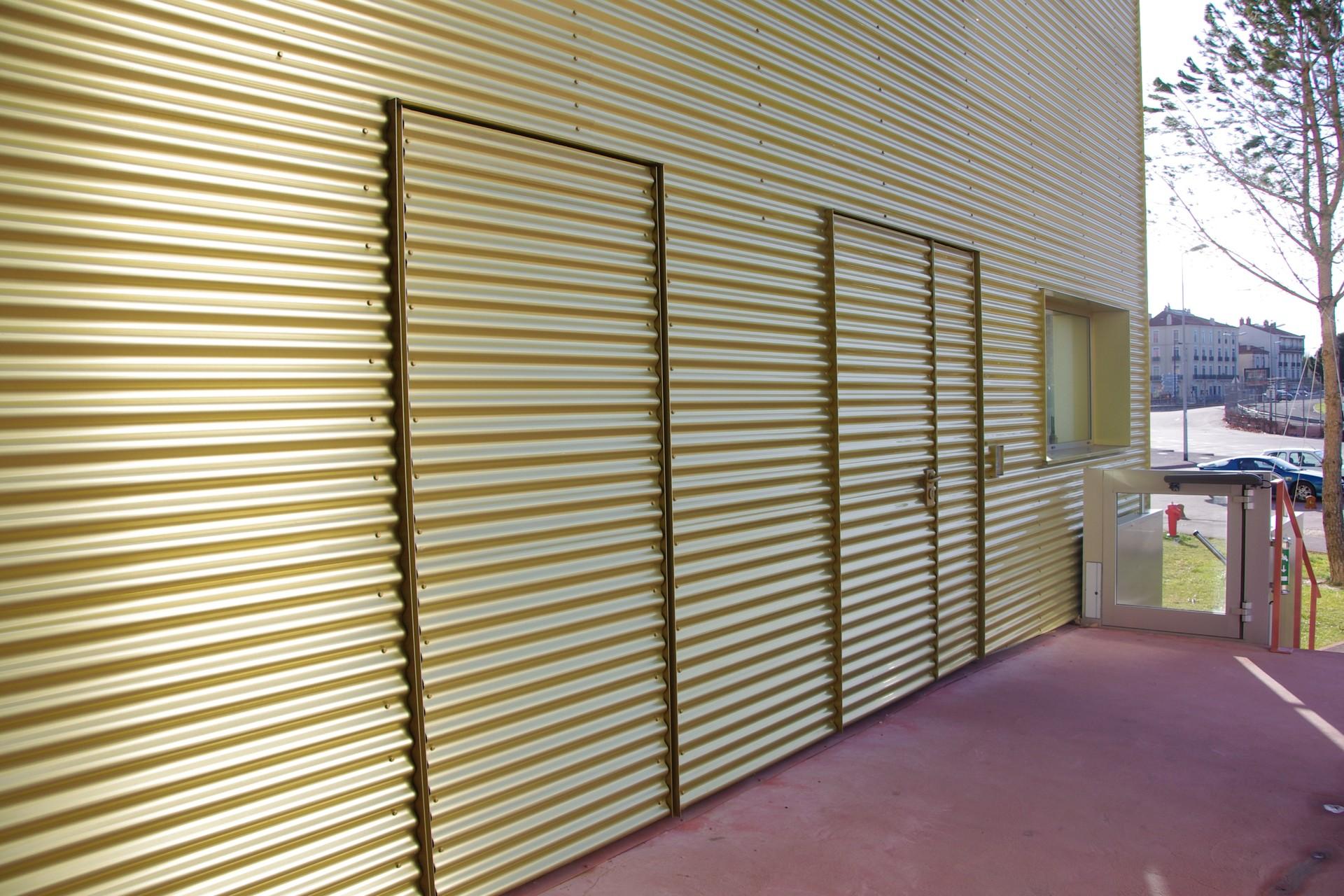DOORTAL - Théâtre de l'Archipel porte sous tenture