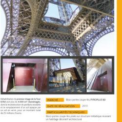 DOORTAL - Tour Eiffel à Paris