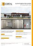 Fiche chantier Lycée Eugène Decomble à Chaumont